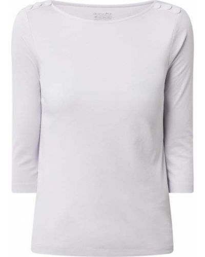 Fioletowa bluzka bawełniana Christian Berg Women