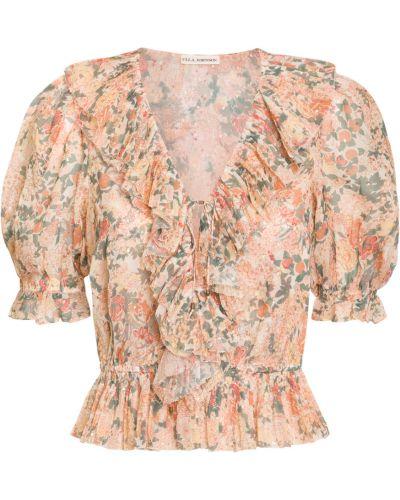 Różowa koszula Ulla Johnson