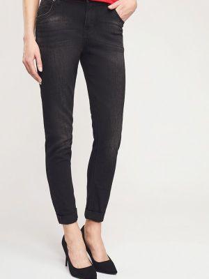 Зауженные джинсы - серые Mossmore