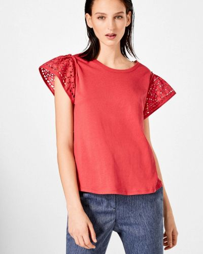 Красная футболка Pedro Del Hierro