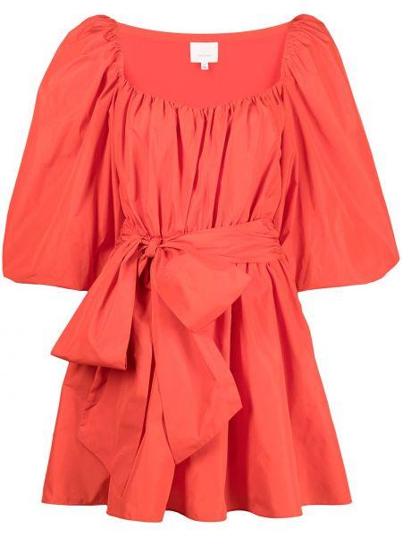 Красное платье мини короткое Cinq À Sept