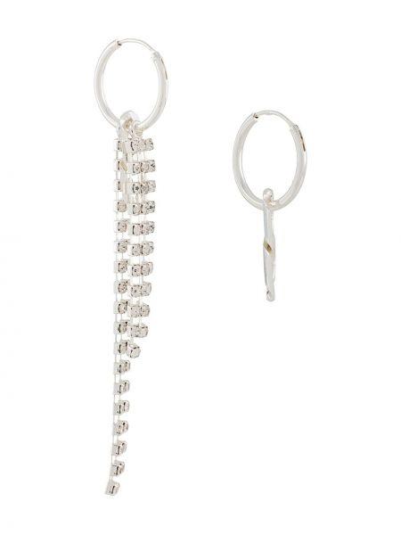 Серебряные серьги с подвесками Coup De Coeur