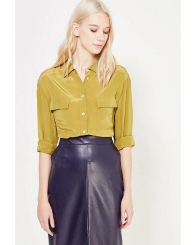 С рукавами зеленая блузка ли-лу