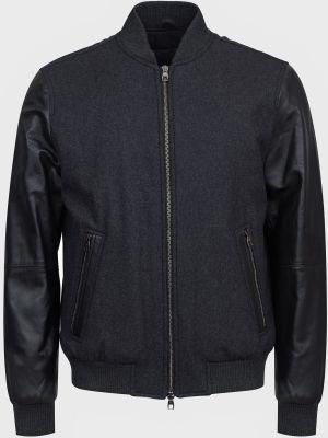 Куртка на молнии - черная Lab. Pal Zileri