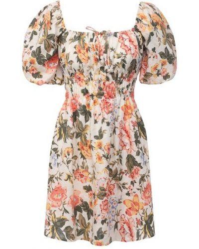 Льняное платье с подкладкой Faithfull The Brand