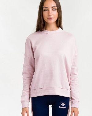 Розовый свитшот Hummel