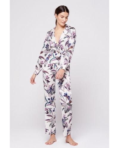Пижама с рубашкой на пуговицах Etam