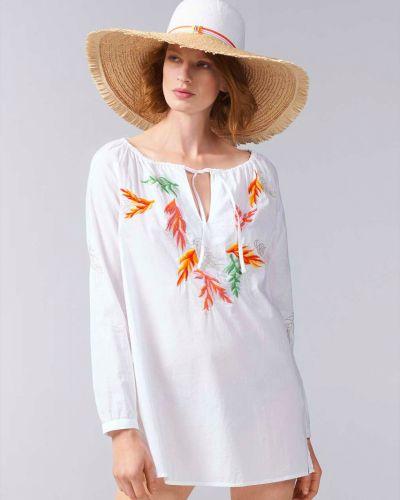 Блузка белая весенний Bogner