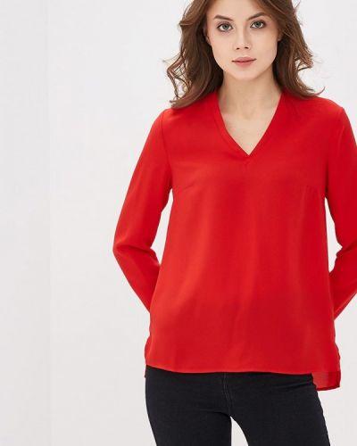 Красная блузка Modis