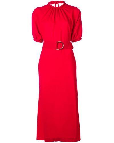 Платье мини короткое - красное Eudon Choi