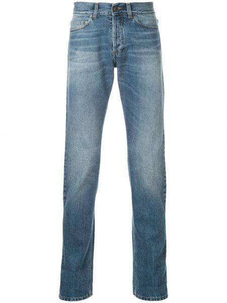 Niebieskie jeansy bawełniane Kent & Curwen
