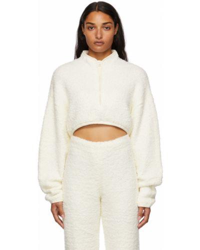 Укороченный свитер - белый Skims