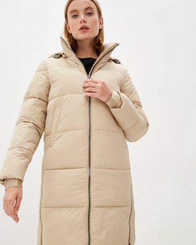 Бежевая зимняя куртка Calvin Klein