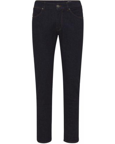 Niebieskie spodnie sztruksowe w paski Pantaloni Torino