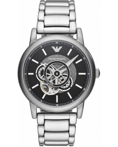 Zegarek kwarcowy srebrny Emporio Armani