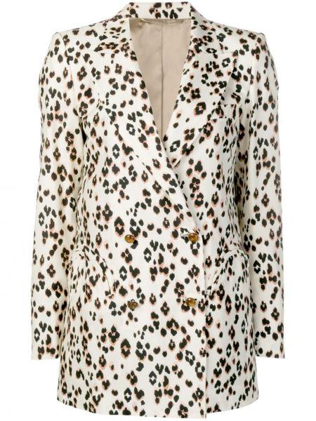 Шелковый свободные пиджак с карманами на пуговицах Blazé Milano