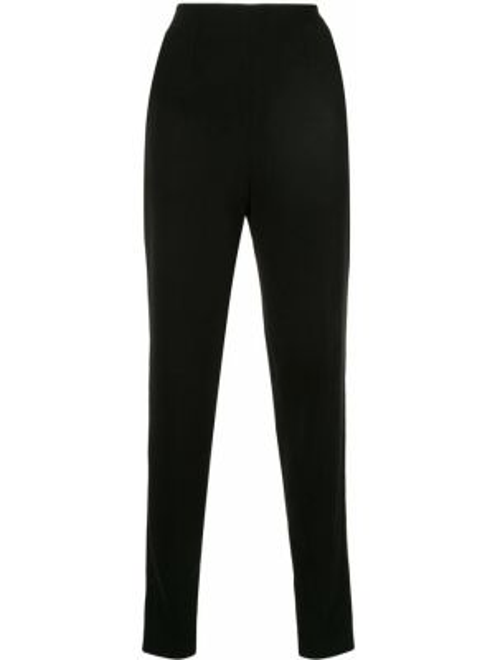 Черные брюки с воротником Azzi & Osta