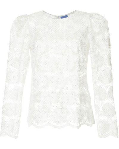 Блузка с вышивкой белая Macgraw