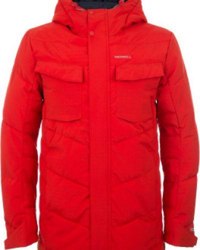 Длинная куртка утепленная с капюшоном Merrell