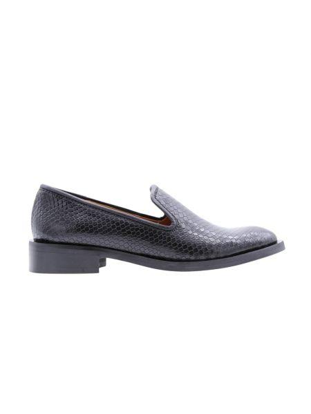 Czarne loafers Zinda