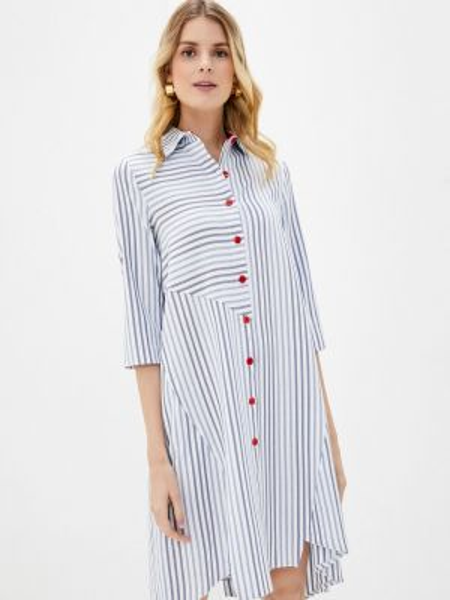 Платье платье-рубашка весеннее Sezoni