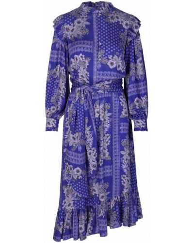 Niebieska sukienka Ravn