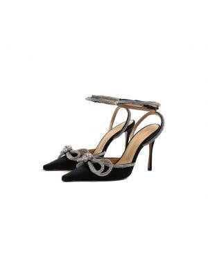 Черные кожаные туфли Mach & Mach