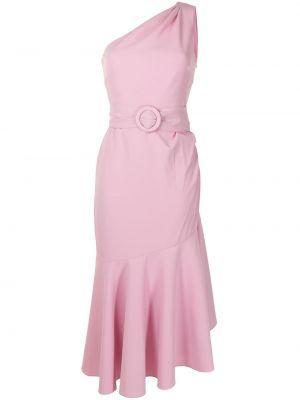 Różowa sukienka asymetryczna bez rękawów Sachin & Babi