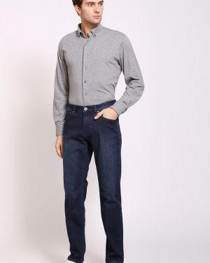 Хлопковые синие джинсы Pezzo