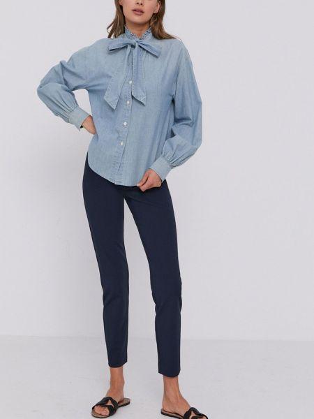 Хлопковая рубашка Lauren Ralph Lauren
