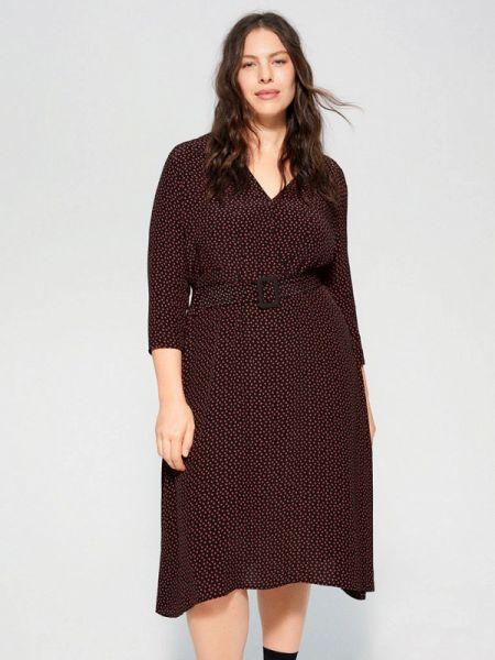 Фиолетовое платье Violeta By Mango