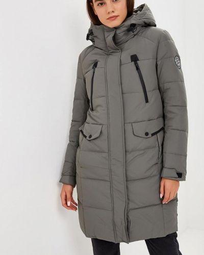 Зимняя куртка осенняя серая Snowimage