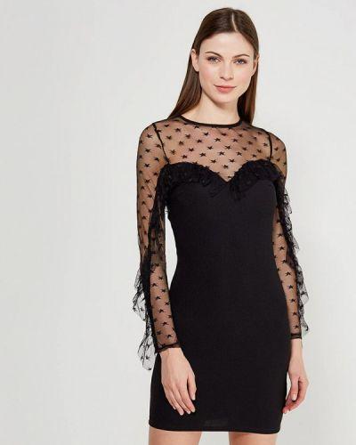 Черное платье футляр Jennyfer