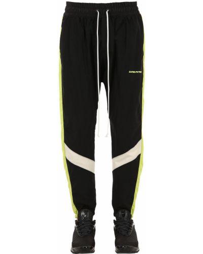 Спортивные брюки в полоску с поясом Daniel Patrick