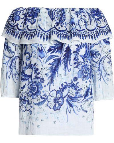 Koszulka bawełniana - niebieska Bailey 44
