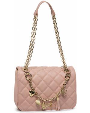 Różowa torebka elegancka My Twin