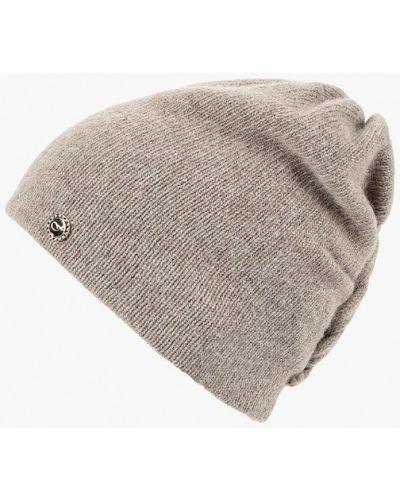 Бежевая шапка осенняя Fabretti