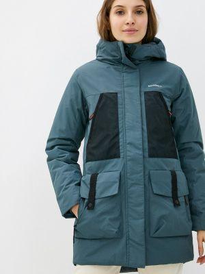Бирюзовая демисезонная куртка Merrell