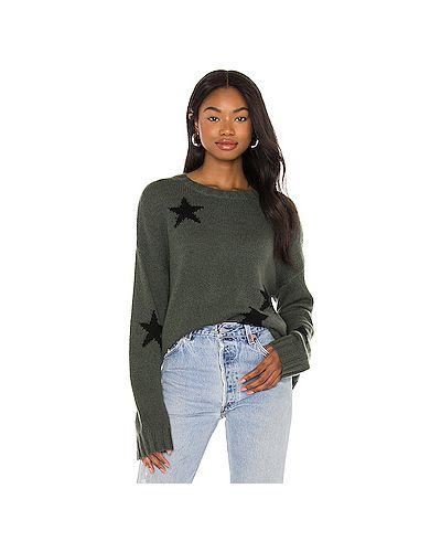 Зеленый шерстяной свитер Rails