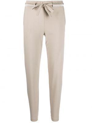 С кулиской с завышенной талией спортивные брюки эластичные D.exterior