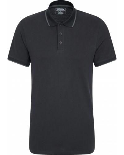 Czarna t-shirt Mountain Warehouse