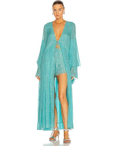 Синее платье с подкладкой из вискозы Rococo Sand