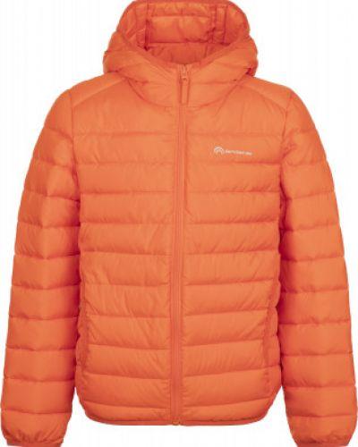Оранжевая теплая короткая куртка на молнии Outventure