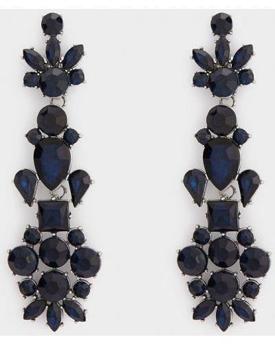 Серьги темно-синий универсальный Parfois