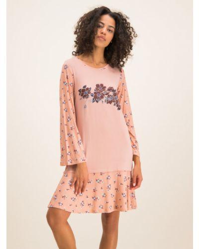 Różowa koszula nocna Twinset