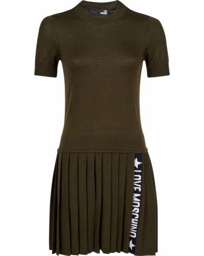 Акриловое платье Love Moschino