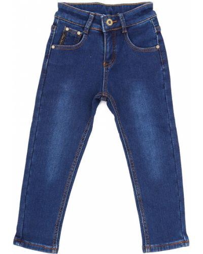 Джинсы с подкладкой синий Js Jeans