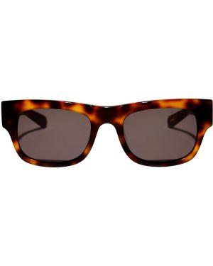 Okulary srebrne Flatlist Eyewear