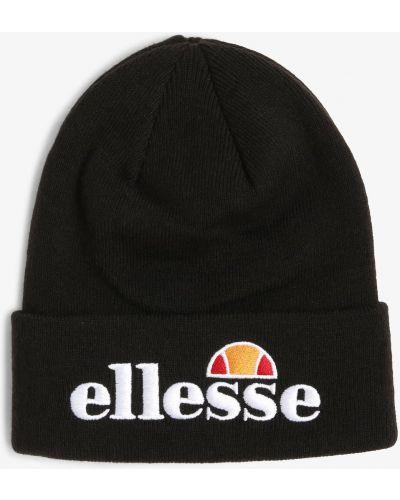 Klasyczna czarna czapka beanie Ellesse