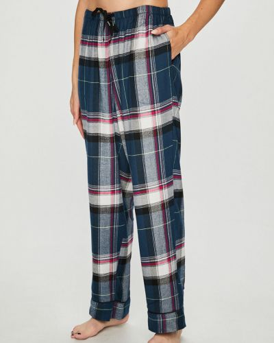 Брюки на резинке пижамные из полиэстера Dkny